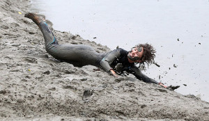 Leadership Skills Misunderstood Tripped Up Woman in Mud